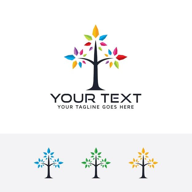 kreativit228t baum vektor logo vorlage download der
