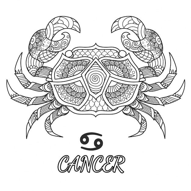 Krebs Premium Vektoren