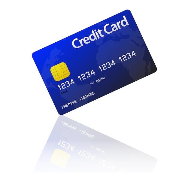 Kreditkarte Premium Vektoren