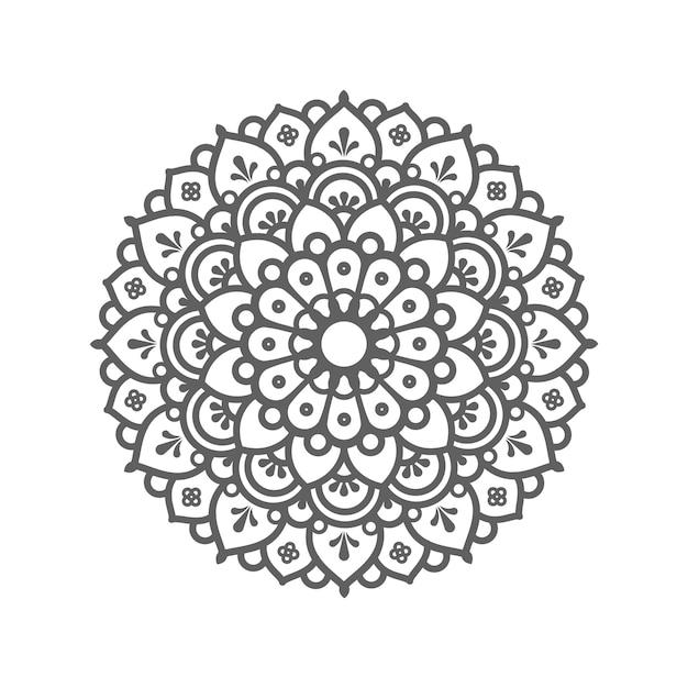 Kreismuster in form eines mandalas. dekorative verzierung im ethnisch orientalischen stil Premium Vektoren