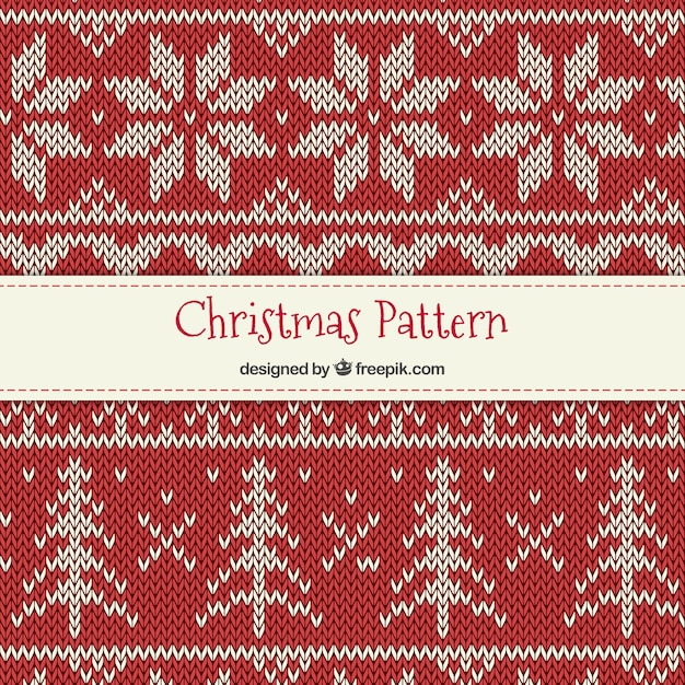 kreuzstich weihnachten muster download der premium vektor. Black Bedroom Furniture Sets. Home Design Ideas