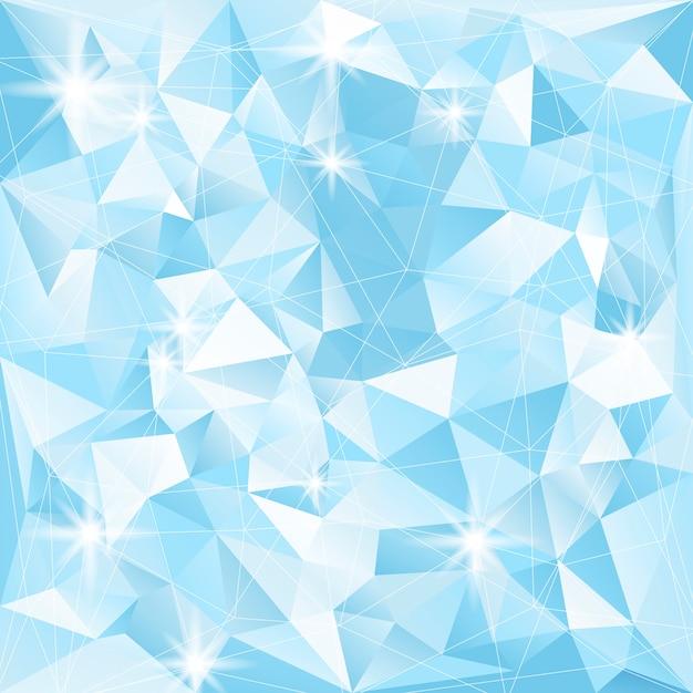 Kristall strukturierte hintergrund illustration Kostenlosen Vektoren