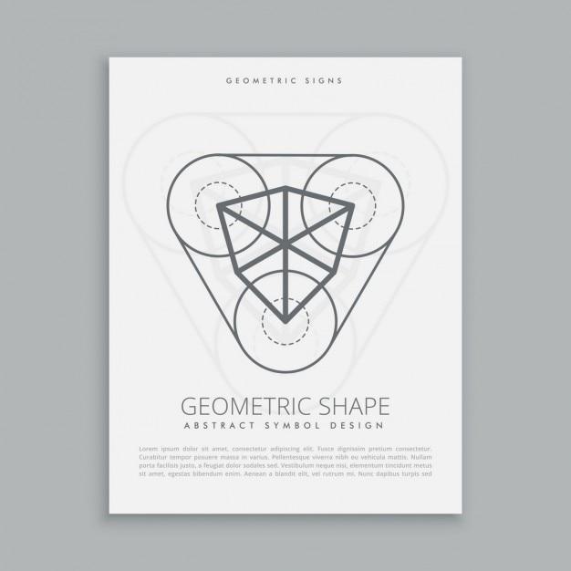 Kubisch heilige geometrische figur Kostenlosen Vektoren