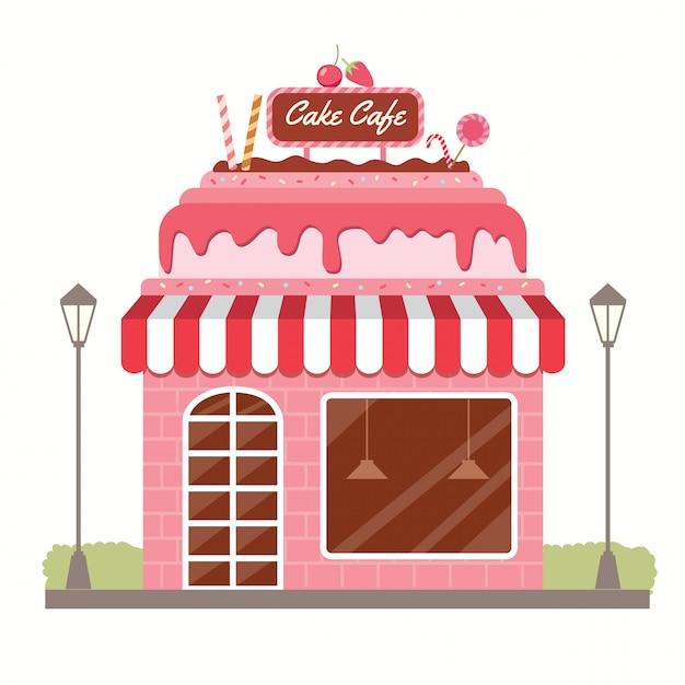 Kuchencafe Premium Vektoren