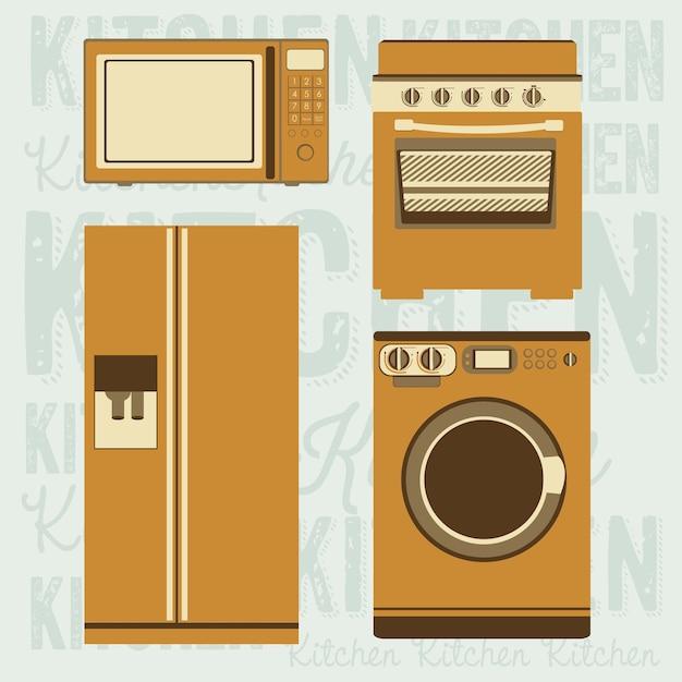 Küche Premium Vektoren