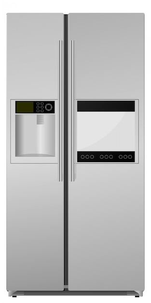 Kühlschrank Premium Vektoren