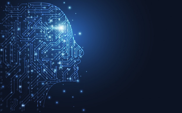 Künstliche intelligenz Premium Vektoren