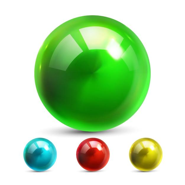 Kugel-ball Premium Vektoren