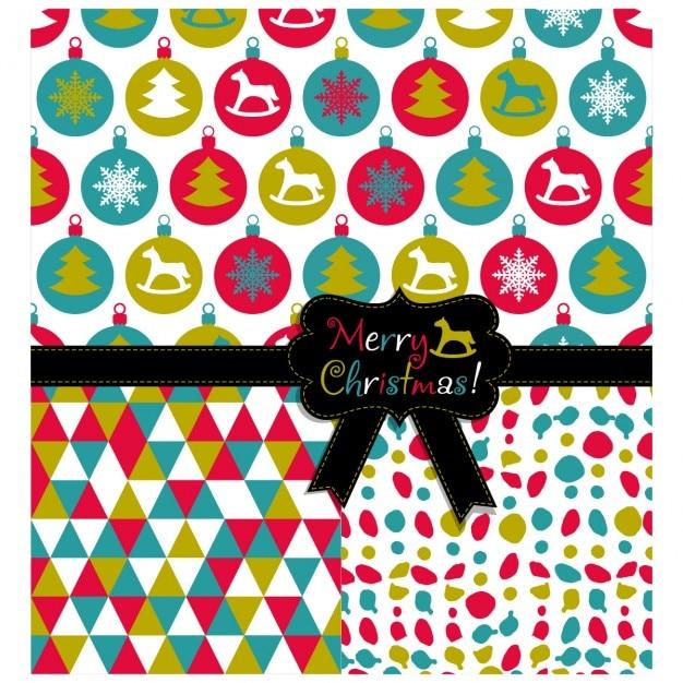 kugeln weihnachten muster nahtlose set weihnachten textur. Black Bedroom Furniture Sets. Home Design Ideas