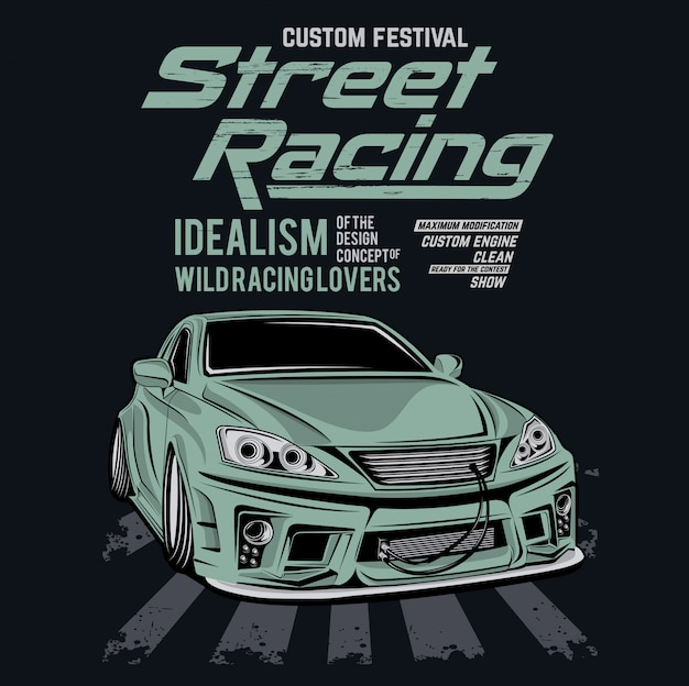 Kundenspezifisches festival Premium Vektoren