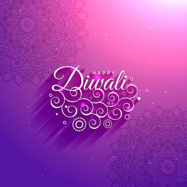 K nstlerisch gl cklich diwali lila hintergrund mit mandala for Lila tapete mit muster