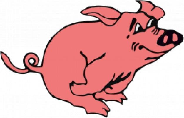 laufen schwein download der kostenlosen vektor