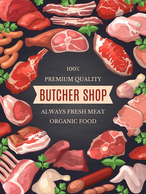 Lebensmittelbilder eingestellt Premium Vektoren