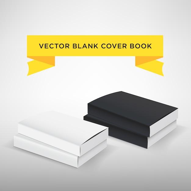 Leere Buchdeckel-Vektor-Illustration. Softcover-Buch oder ...
