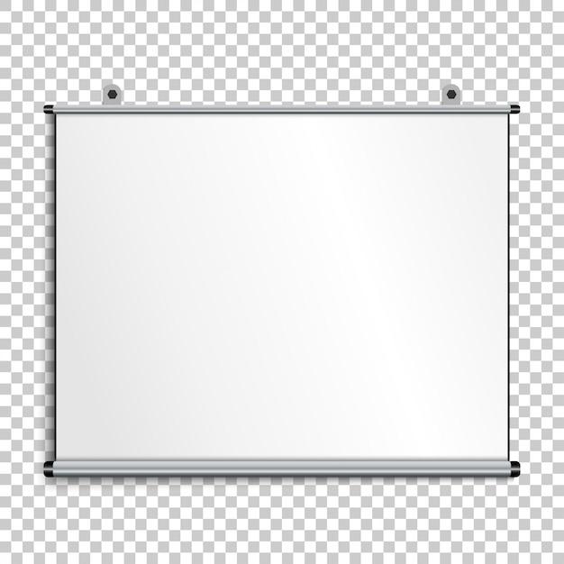 Leerer präsentationsbildschirm Premium Vektoren