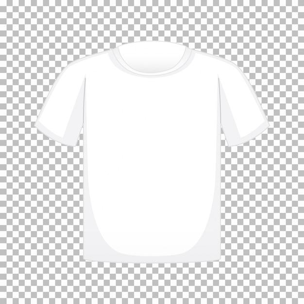 Leeres t-shirt auf transparentem Kostenlosen Vektoren