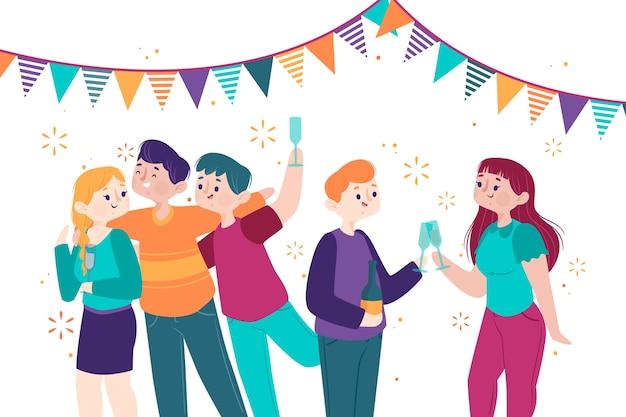 Fasching Geburtstag Party Kostenloses Foto Auf Pixabay