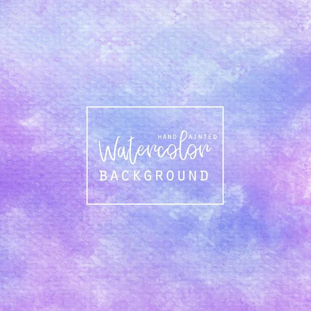 Licht lila Aquarell Hintergrund Kostenlose Vektoren