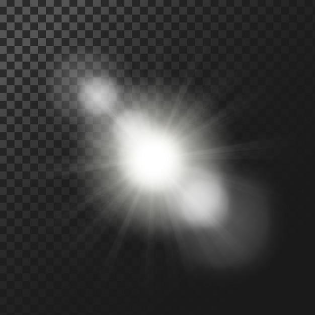 Lichteffekte hintergrund Kostenlosen Vektoren