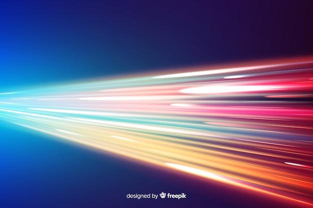 Lichtspurhintergrund Kostenlosen Vektoren
