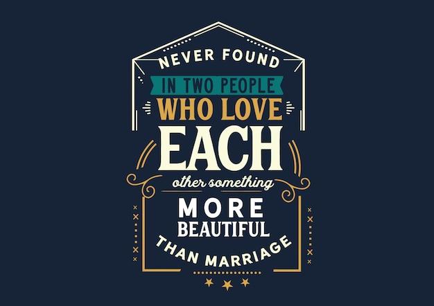Liebe einander schöner als die ehe Premium Vektoren