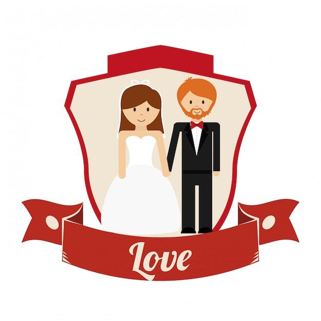 Liebe ikonendesign Premium Vektoren