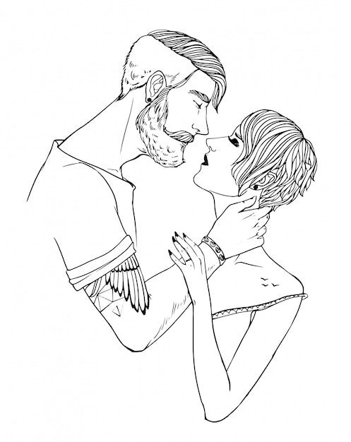 Mädchen Schwarz ein Kerl Zwei Philipp kika