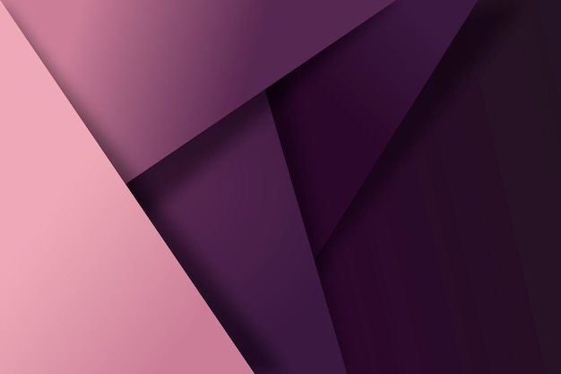 Lila geometrischer hintergrund Kostenlosen Vektoren