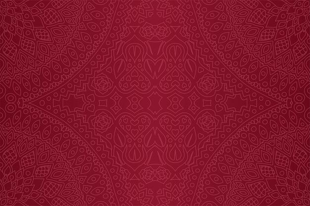 Lila nahtlose muster mit herzen und rosen Premium Vektoren