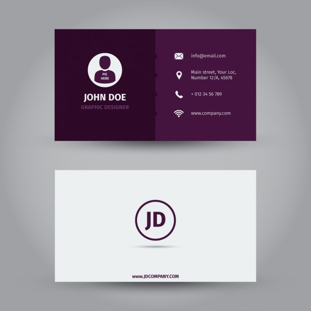 Id Card Sample Designs Psd