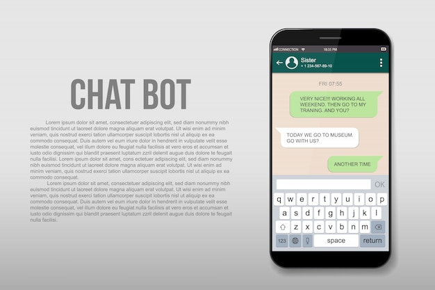 Live-chat-boxen für mobiltelefone. messenger-fenster. Premium Vektoren