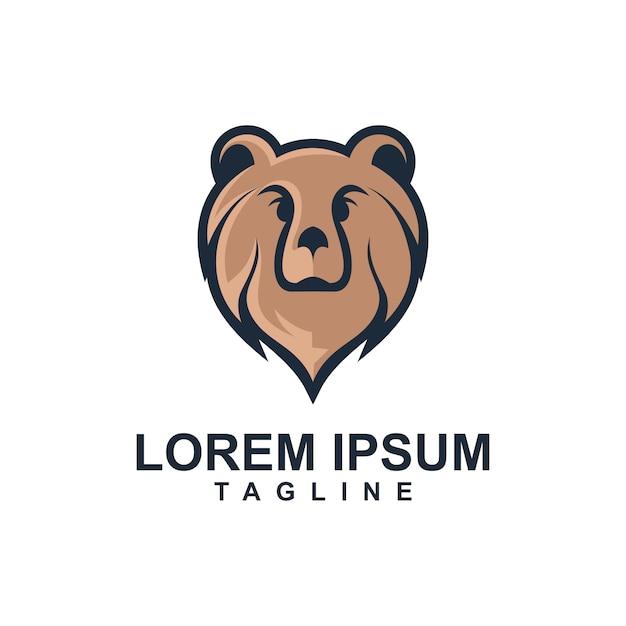 Löwe-maskottchen-logo-schablone Premium Vektoren