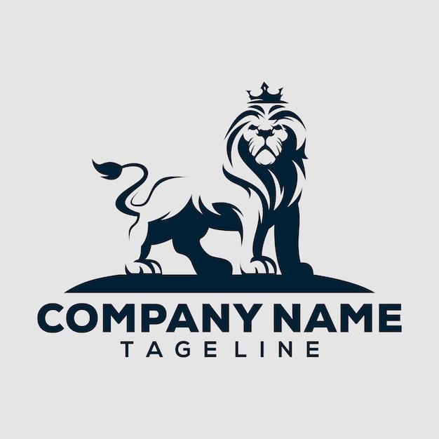 Löwen-logo Premium Vektoren