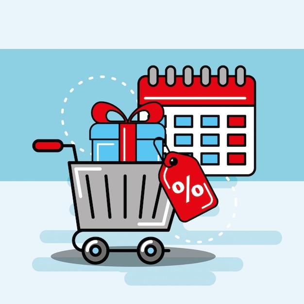 Logistik- und lieferservice Premium Vektoren