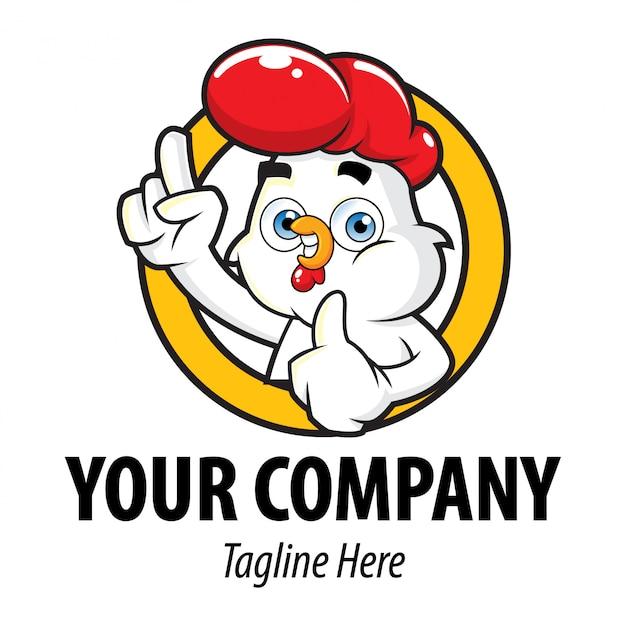 Logo chicken Premium Vektoren