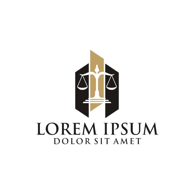 Logo der rechtsanwaltskanzlei Premium Vektoren