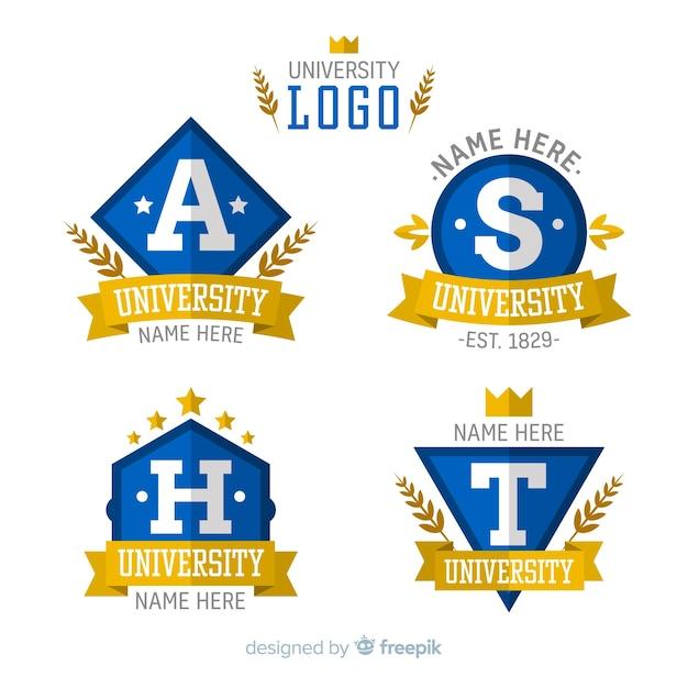 Logo der universität Kostenlosen Vektoren
