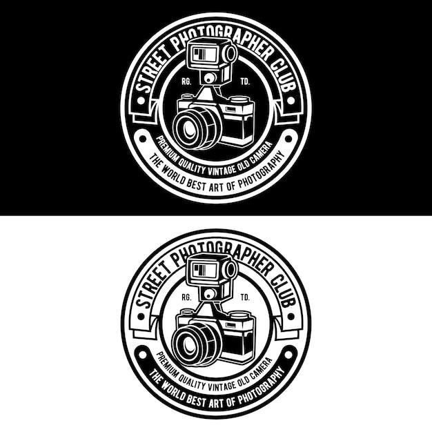 Logo des fotografen Premium Vektoren