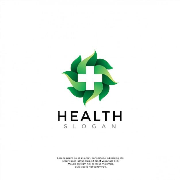 Logo für gesundheitswesen, medizin, apotheke Premium Vektoren