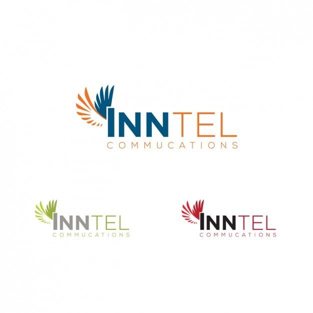 Logo in verschiedenen Farben-mit Flügeln | Download der kostenlosen ...