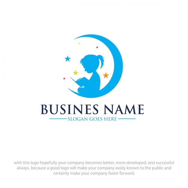 Logo lesen Premium Vektoren