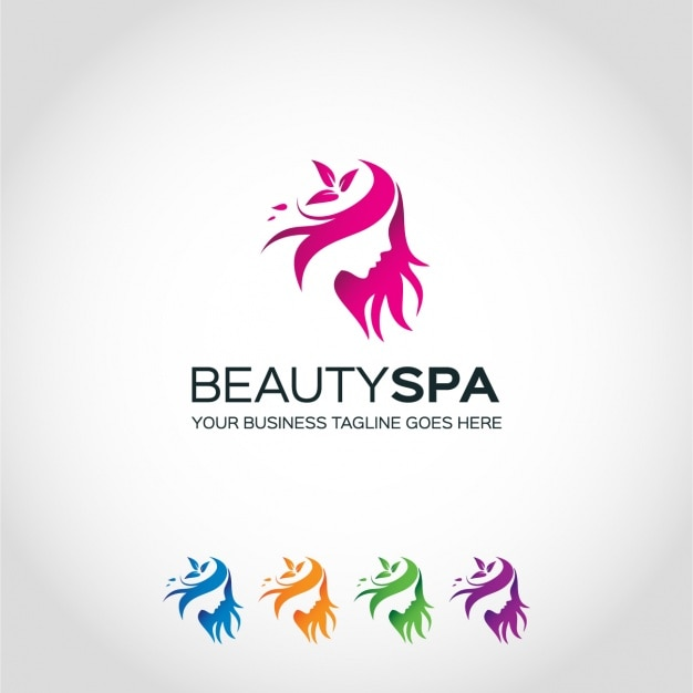 Logo Template-Design Kostenlose Vektoren