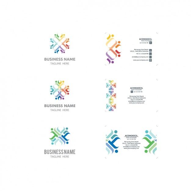 Logo Und Visitenkarten Vorlagen Sammlung Download Der