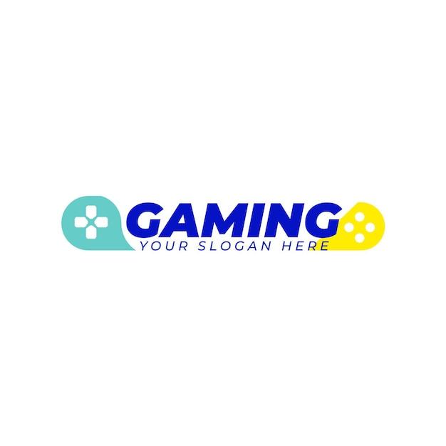 Logo-vorlage für spiele Kostenlosen Vektoren