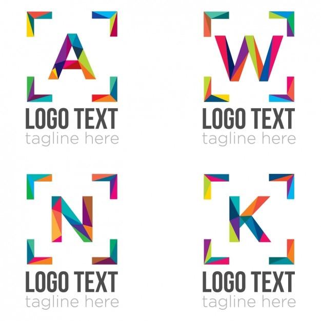 Logo-Vorlagen-Sammlung | Download der kostenlosen Vektor