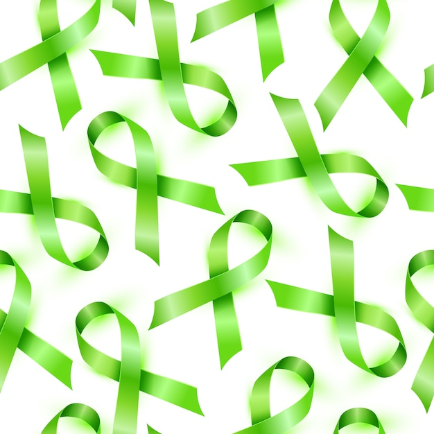 Lokalisiertes nahtloses muster des lymphomkrebsbandes. Premium Vektoren