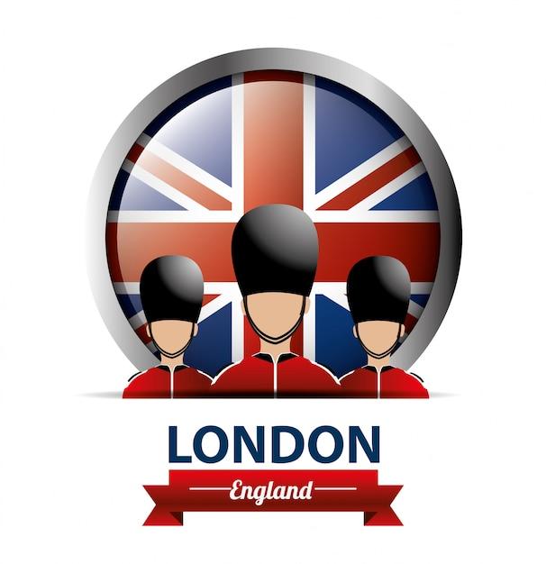 London design. Premium Vektoren