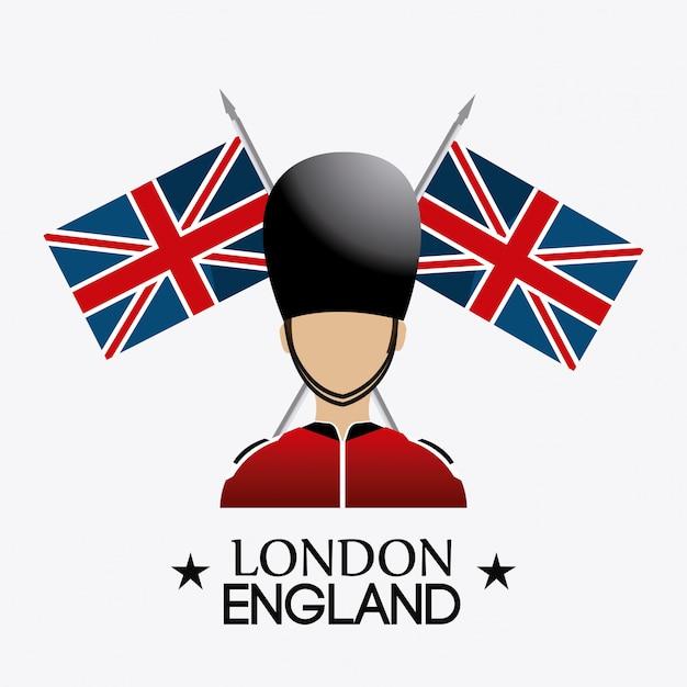 London england design. Premium Vektoren