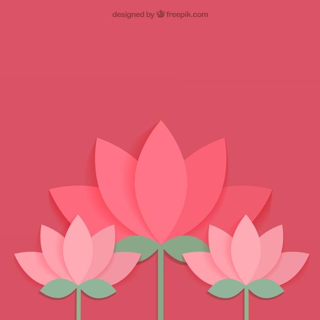 Lotusblume Kostenlosen Vektoren