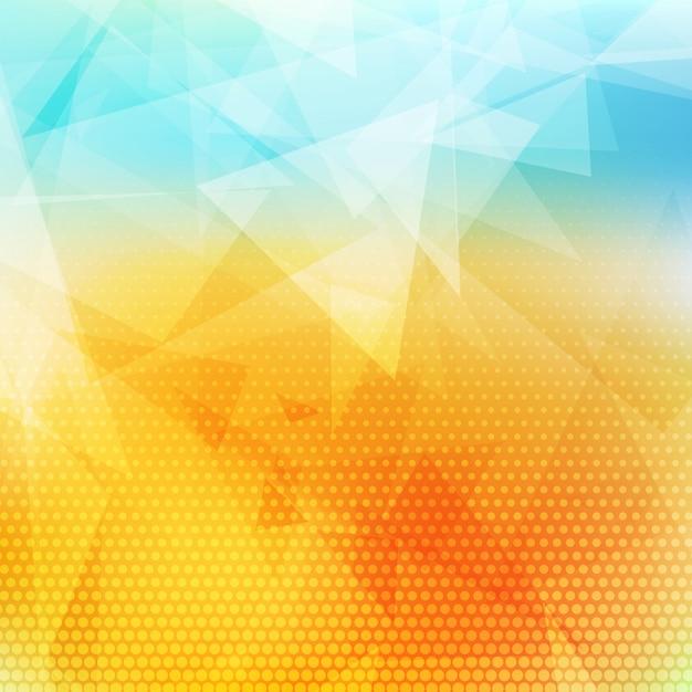 Low-poly abstrakten hintergrund Kostenlosen Vektoren